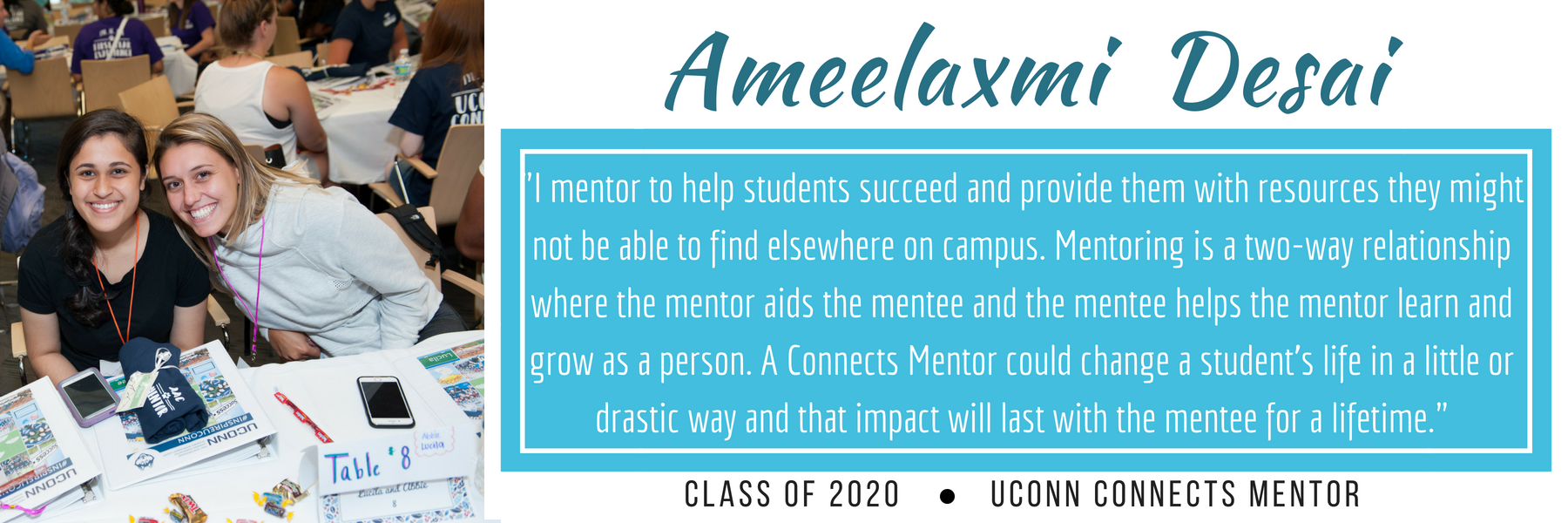 Amee Desai why I mentor