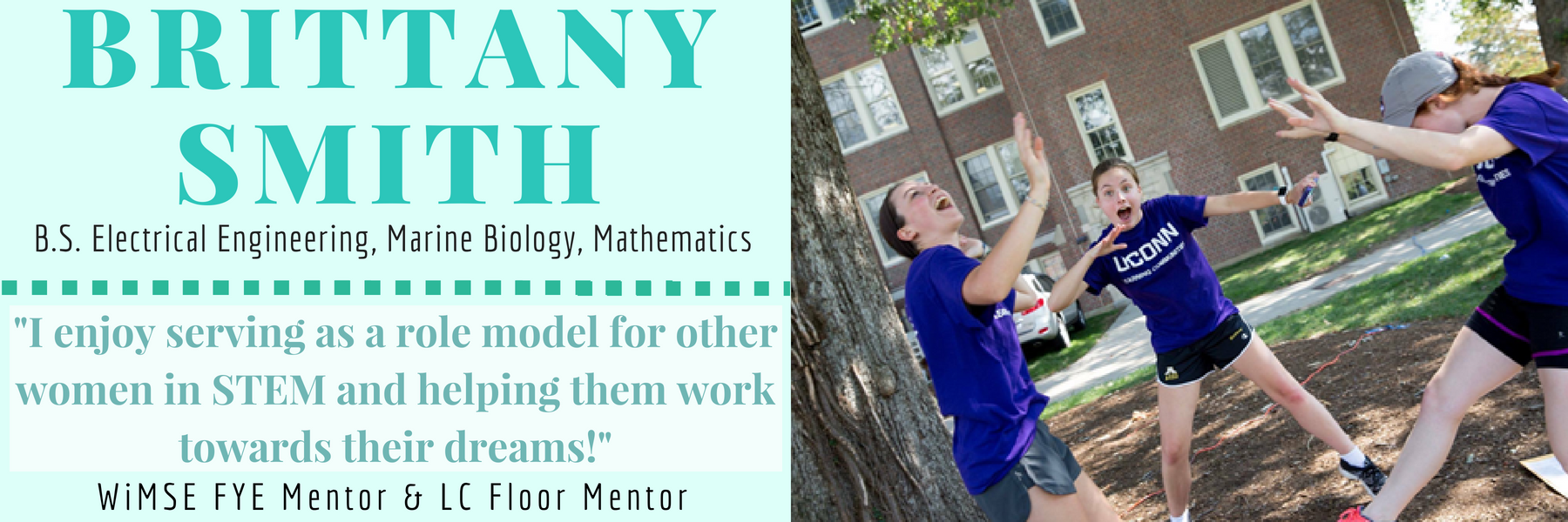 Brittany Smith Why I mentor