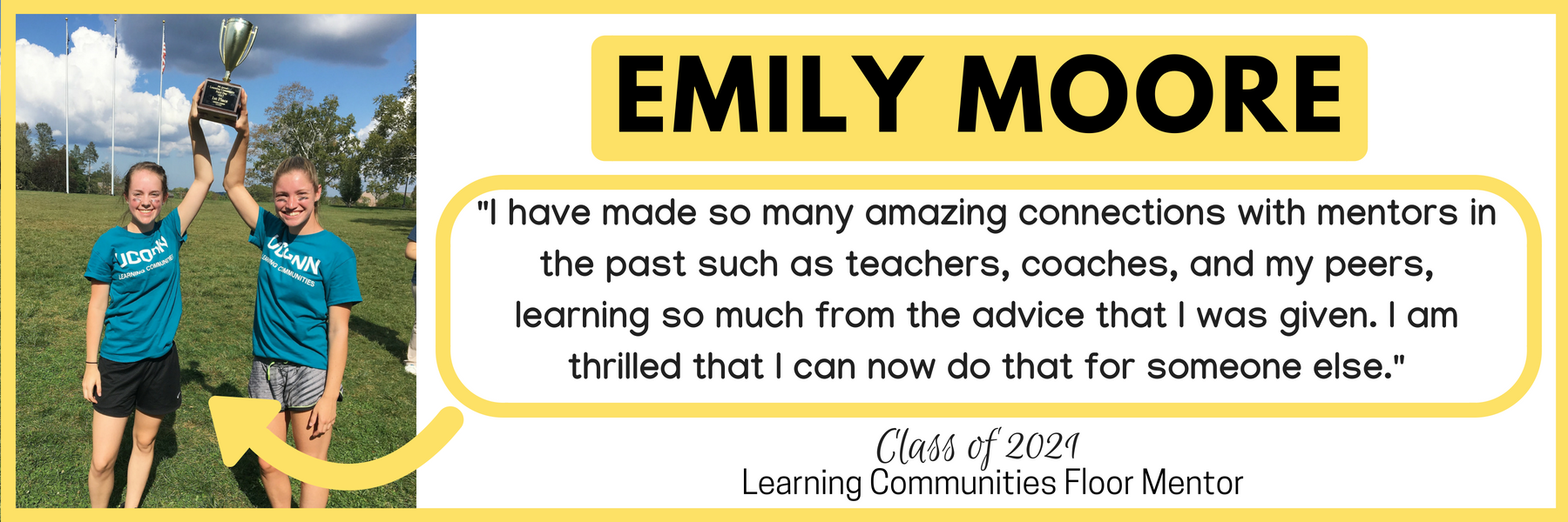 Emily Moore Why I mentor