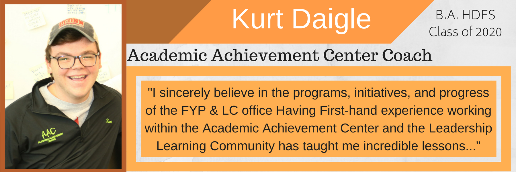 Kurt Daigle Why I mentor